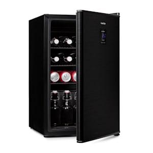 Beer Baron, italhűtőszekrény, A+, 68 liter, 39 dB, 0 – 10 °C, fekete