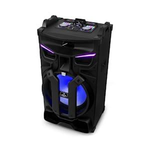 "Silhouettes Party-Soundsystem 15"" Lautsprecher USB, SD, BT 450W schwarz"