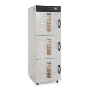 Master Jerky 550, élelmiszerszárító gép, 2400 W, 40 - 90 °C, 24 órás időzítő, nemesacél, ezüstszínű