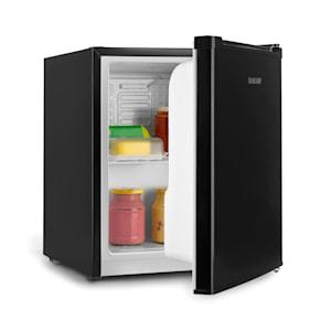 Scooby Mini-Kühlschrank | EcoExcellence System | Energieeffizienzklasse A++ | 40 Liter Fassungsvermögen | Temperaturregler | herausnehmbarer Regaleinschub | Flaschenfach bis 2 Liter | 41 dB | schwarz