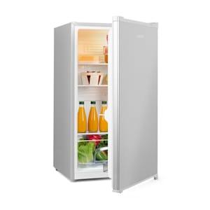 Hudson Kühlschrank A++ 88 Liter Crisperfach Kompression silber
