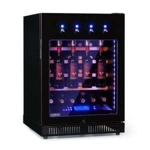 First Class 36 Cave à vin réfrigérée 135L 36 bouteilles 5 à 22° Noir