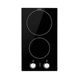 Klarstein EasyCook Domino Piano Cottura in Vetroceramica 3000W Manopole nero
