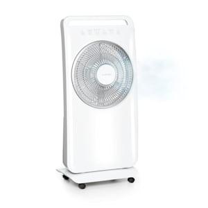 Wildplayer Ventilateur sur pied & humidificateur d'air 80W - Blanc