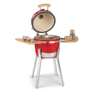 Princesize Pro barbecue Kamado en céramique fumoir BBQ | Diamètre 13