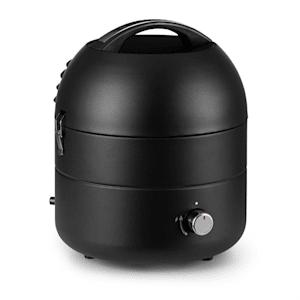 DareDevil, grill gazowy BBQ, 2,5 kW, 29 cm średnicy, dla 4 osób, stal, czarny