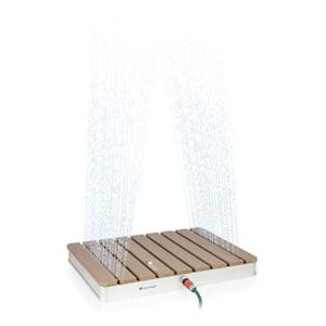 Sumatra Breeze SQ Garden Shower WPC Aluminium 70x55cm Square