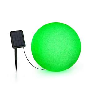 Shinestone Solar 40 lichtbol zonnepaneel Ø40cm RGB LED IP68 accu