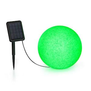 Shinestone Solar 30 lichtbol zonnepaneel Ø30cm RGB LED IP68 accu