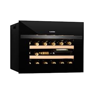 Klarstein Vinsider 24 Built-In Uno Wine Cooler 1 Zone 24 Bottles EEC A +