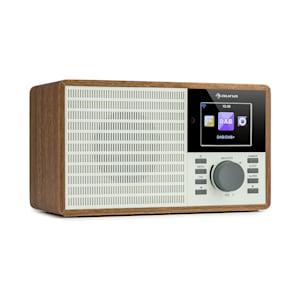 "IR-160 SE Internetradio WLAN USB DAB+ UKW 2.8""HCC Display APP AirMusic wood"