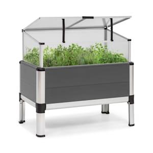 Novagrow Advanced Greenhouse 78.5x75.5x47 cm 86l UV Protection Grey