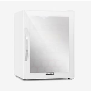 Beersafe XL Quartz koelkast drankenkoelkast | volume: 60 liter | 1 metalen schap, 2 flessenroosters en 1 champagnerek | binnentemperatuur van 3 tot 10 °C | draaiknop | dubbel geïsoleerde glazen deur | vrijstaand | led