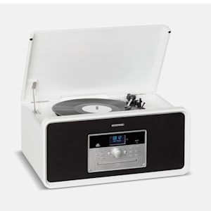 Bella Ann Stereoanlage Plattenspieler Radio DAB+/UKW USB Bluetooth