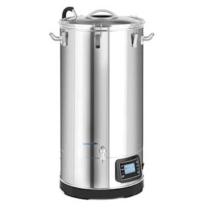 Mundschenk 3XL mäskäyskattila | oluenvalmistussetti | 3000 watin lämmitysteho | 65 litran tilavuus | 9 ohjelmaa | MemoryBrew | LCD-näyttö | kiertopumppu | ruostumaton teräs