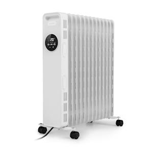 Klarstein Thermaxx Heatstream radiateur à bain d'huile 2500 W 5-35° C minuterie 24 h blanc