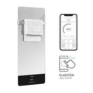 Hot Spot Crystal Reflect Smart radiateur infrarouge 850 W appli minuterie miroir