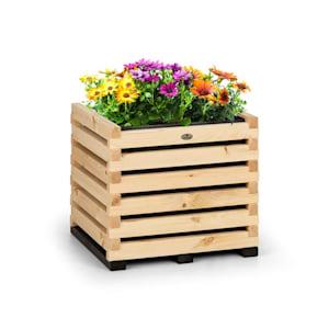Modu Grow 50 Raised Growing Bed 50 x 50 x 45 cm Pine Wood Pine