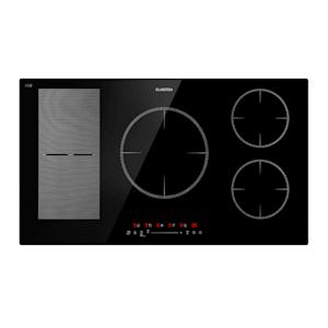 Klarstein Delicatessa 90 Hybrid inbouw inductiekookplaat 5 zones 7000W zwart