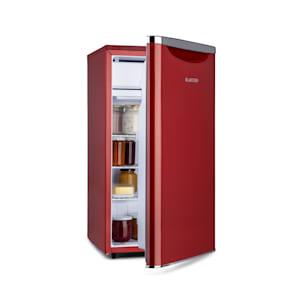 Yummy, lednice s mrazicím boxem, A+, 90l, 41 dB červená