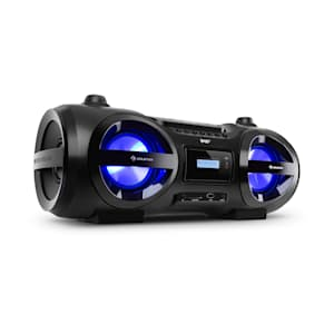 Soundblaster DAB Boombox Bluetooth CD/MP3/USB/AUX DAB+/UKW LED 50Wmax.