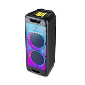 """Clubmaster DJ Lautsprecher 120 W max. 8"""" Woofer DJ-Pad USB BT Line"""