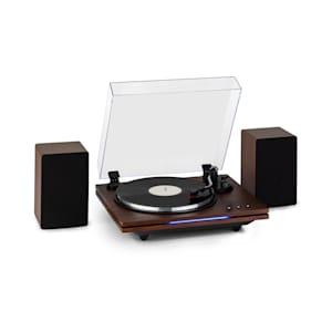 TT-Play PLUS, Giradischi, Altoparlanti, BT, 33/45 rpm, 20Wmax.