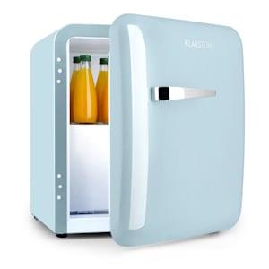Audrey, mini hűtőszekrény, EEC A +, fagyasztó, LED, pasztell kék