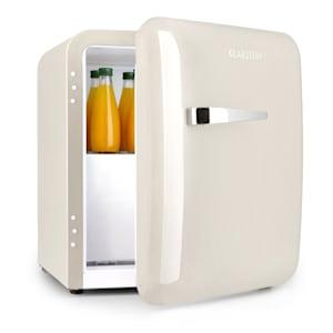 Audrey, mini hűtőszekrény, EEC A +, fagyasztó, LED, krém