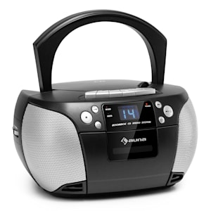 Harper CD Boombox CD-Player Bluetooth Kassette UKW AUX USB