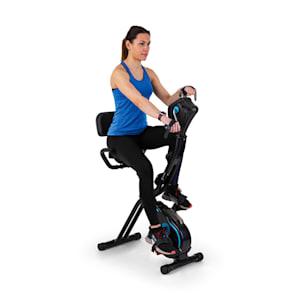 Azura Full Body Comfort Heimtrainer Hand Bike 7,5 kg Schwungmasse Riemenantrieb