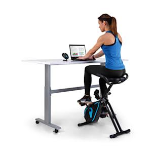 Azura Desk Bike Heimtrainer 7,5 kg Schwungmasse Riemenantrieb