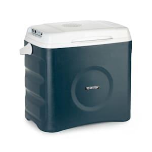 BeerBelly 29 Elektrische Kühlbox | 29L | 3 Anschlüsse: 230V, 12V Anschlussleitung  für Zigarettenanzünder & USB-Anschluss | Tragbar | mit Kühl- und Warmhaltefunktion | Auto, LKW,  Camping, Steckdose