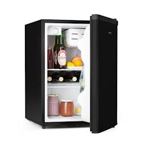 Cool Kid, mini hűtőszekrény 4 l fagyasztóládával, 66 l, 42 dB, A+, fekete