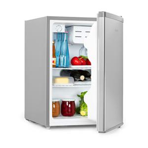 Cool Kid, mini chladnička so 4 l mraziacim priečinkom, 66 l, 42 dB, A+, ušľachtilá oceľ, kartáčovaná