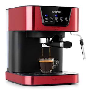 Arabica, aparat za kavo espresso, 1050 W, 15 barov, 1,5 l, nadzorna plošča na dotik, nerjaveče jeklo