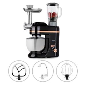 Lucia Elegance keukenmachine mixer vleesmolen 1300W BPA-vrij