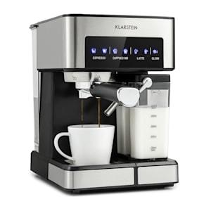 Arabica Comfort, aparat de cafea espresso, 1350W, 20 bar, 1,8 l, suprafață de control tactil, oțel inoxidabil