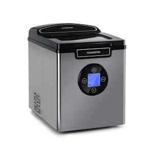 Icemaster 2G, jääpalakone, 12 kg/24 h, LCD-näyttö, ruostumatonta terästä