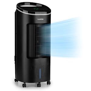 IceWind Plus 4-en-1 Climatizador Humidificador Purificador de Aire 330 m³/h | 49 Watt | 7 Litros | 4 Velocidades | 3 Modos | Oscilación | Ionizador | Temporizador | Control Remoto | Móvil