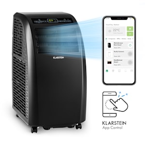 Metrobreeze Rom Smart, Mobile Air Conditioner, 10,000 BTU / 3.0 kW, EEC A +, Remote Control