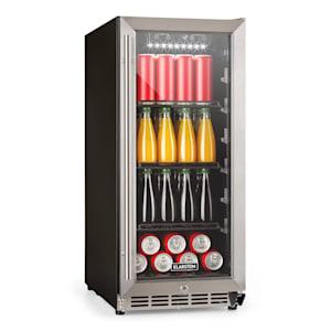 FreshAir 90 Outdoor-Kühlschrank | 90L | Temperatureinstellung 0 bis 10 °C |  IP24 Schutz | Auto-Defrost | UV Filter | Edelstahlgehäuse | Getränkekühlschrank | Barbecue  Cooler | Edelstahl