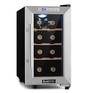 Reserva 8 Uno, chłodziarka na wino, 23 l, 8 butelek, 11–18°C, 26 dB, stal szlachetna
