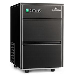 Powericer XL Eiswürfelmaschine Industrie   Produktionsvolumen 20  kg/Tag   3,5 kg Vorratsbehälter   145 Watt   Einbau/Unterbau    Reinigungsprogramm   Eiswürfelbereiter   Ice Maker