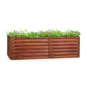 Rust Grow, raised bed, garden bed, galvanised sheet steel, rust finish