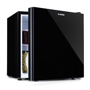 Mini-frigorífico combinado Luminance Frost | Capacidade:  45 litros | EEK F | congelador: 1,5 litros | 2 compartimentos de armazenamento | Compartimento da porta | Baixo ruído: 37 dB | Ajuste da temperatura em 5 fases | Porta com frente de vidro