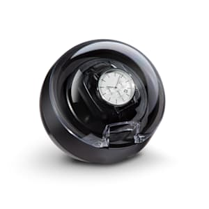St. Gallen ll watch winder | left / right or bidirectional  running | 4 programs: 650 / 900 / 1200 / 1500 TPD | switchable  LED lighting | touch control panel | front door with acrylic window