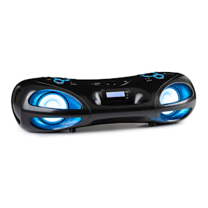 Spacewoofer DAB Boombox CD-Player DAB+ UKW Bluetooth Fernbedienung LED