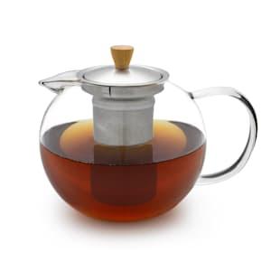 Sencha, kanvica na čaj, 1,3 l, sitko z ušľachtilej ocele, borosilikátové sklo, vrchnák