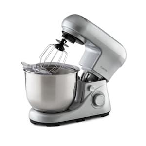 Bella Pico 2G Küchenmaschine Rührmaschine | 1300 W / 1,7 PS in 6  Leistungsstufen mit Pulsfunktion | Planetarisches Rührsystem | 5 l  Edelstahlschüssel | 3-tlg. Zubehör: Rühr- & Knethaken aus Aluminium-Druckguss,  Schneebesen aus Edelstahl | kompakt